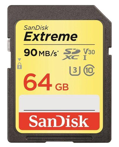 Carte-mémoire-SDXC-Sandisk-64Go-90Mo-s-Avis