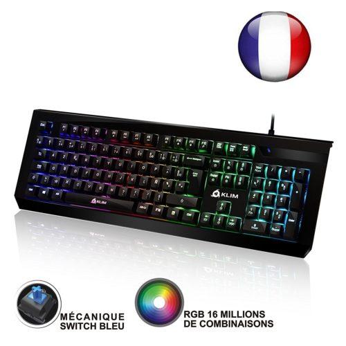 clavier-mécanique-gamer-Klim-Domination-Test-Avis