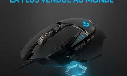 Ce que nous pensons de la souris Logitech G502 : Test Avis